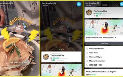 SnapChat's Context Cards help you interact with the world