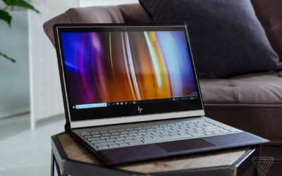 HP's new leather laptop tries to reinvent the PC